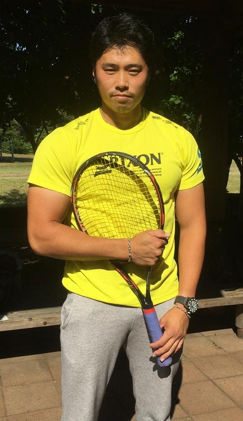 001 39 - ベンチ140kg以上、日本最強クラスの筋力を持つテニスプレヤー松尾友貴選手「フィジカルは重要」