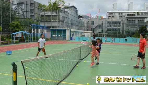 00154 - 【親子の会話が増える】南青山で行われている隠れた人気スクール「親子テニス」とは!?