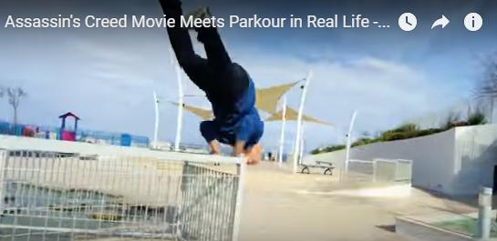 002 10 - 「パルクールの技が必要不可欠」CGではなくリアル筋肉でアクションを作り上げた映画『アサシン クリード』公開