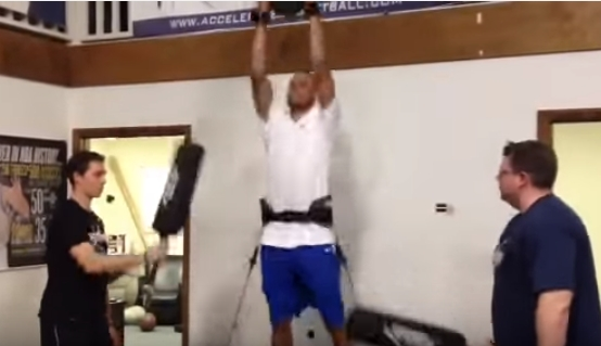 002 27 - 【NBA】ステフィンカリー『想像を絶するトレーニングの賜物』から生み出される進入角度「46度」のシュート