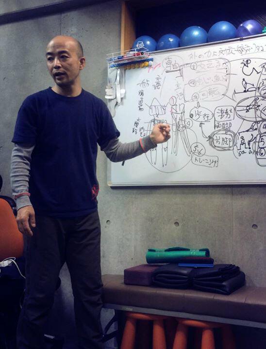 002131 【講師・瀧本修】そもそも軸って何?『軸がある正しい姿勢の作り方と歩行のトレーニングセミナー』2月10日開催