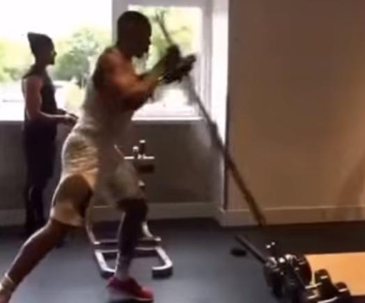 008 3 - 【ヘビー級ボクサー】鍛え抜かれた108キロの体、スタミナとパワーを併せ持つ「アンソニー・ジョシュア」のトレーニング映像