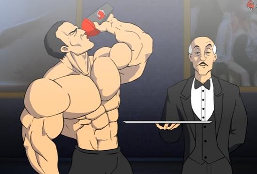 01 16 - 【本気すぎ!】プロテイン飲んでからの『バットマンの筋トレ』がえげつないほどカッコイイ