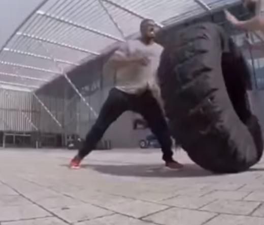 010 3 - 【ヘビー級ボクサー】鍛え抜かれた108キロの体、スタミナとパワーを併せ持つ「アンソニー・ジョシュア」のトレーニング映像