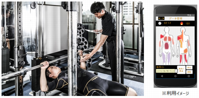 img 138725 1 - 筋肉の動きを科学的に解析、RIZAP × グンゼによる 最先端トレーニングウェア 「筋電WEAR」が誕生