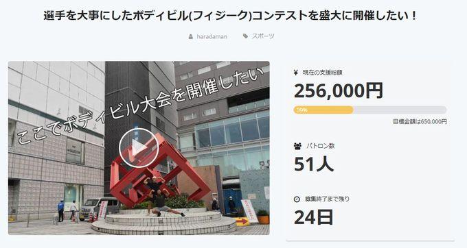 001 255 - 出場資格「マッチョであること!」広島で選手を大事にしたボディビルコンテストを開催したい