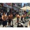 """160 41 100x100 - お祭りには""""筋肉チーム必須""""の時代到来か!千葉県浦安市の祭りにゴールドジムのマッチョが登場し盛り上げる"""