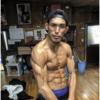 160 76 100x100 - 【筋肉彫刻】カリッカリ!3週間で体重20キロを落とす??筋肉格闘家、岡野裕城選手が筋肉チェック完了