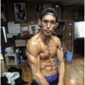160 76 120x120 - 【筋肉彫刻】カリッカリ!3週間で体重20キロを落とす??筋肉格闘家、岡野裕城選手が筋肉チェック完了
