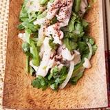 160food - 【体脂肪率が低い方へ】お鍋だけではもったいない!春菊エスニックサラダでインフルエンザ予防を。