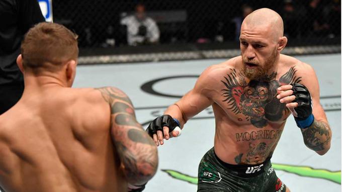 48・マクレガー - 【総合格闘技】UFC257、コナーマクレガーが「カーフキック」で敗れる