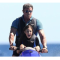 【屈強】シルヴェスター・スタローンと娘のバケーション姿がどう見ても映画のワンシーン