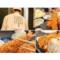 【広背筋】奈良県のとんかつ屋さん「まるかつ」、広背筋に張り紙でお客さん大勢ご来店